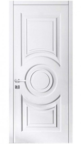 Межкомнатные  двери Флорида белая эмаль