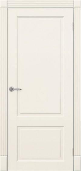 Межкомнатные  двери Дуос белая эмаль