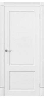 Двери межкомнатные  Дуос белая эмаль