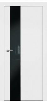 Двери межкомнатные  Плайн вертикаль белая эмаль