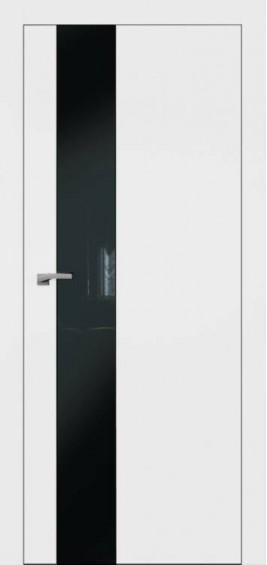 Межкомнатные  двери Плайн Вертикаль белая эмаль