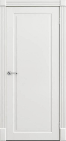 Межкомнатные  двери Соло белая эмаль