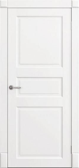 Межкомнатные  двери Тресс белая эмаль