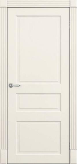 Межкомнатные  двери Трио белая эмаль