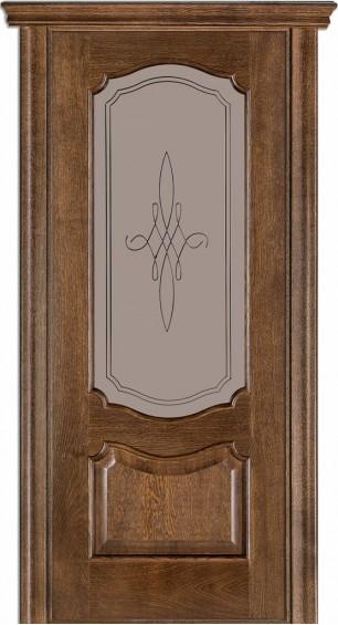 Межкомнатные  двери 41 Дуб браун