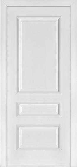 Межкомнатные  двери 53 Ясень белый