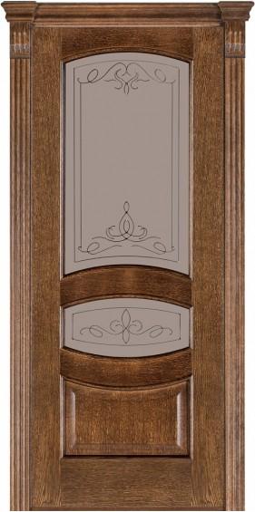 Межкомнатные  двери 50 Дуб браун