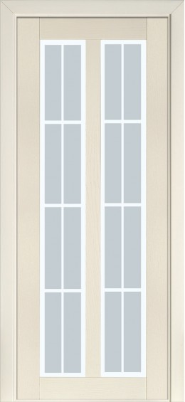 Межкомнатные  двери 117 Ясень крем