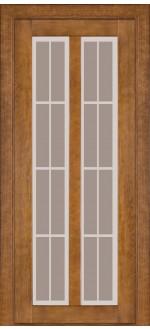 Двери межкомнатные Модель 117 Дуб темный