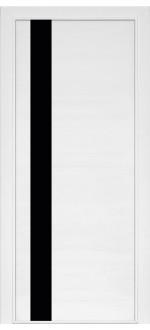Двери межкомнатные Модель 21 Ясень белый