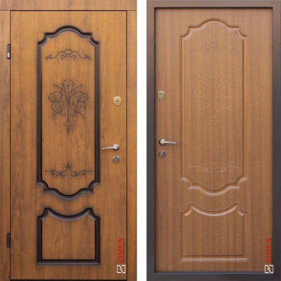 Входные двери Blanca 399 + патина