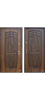 Входные двери Classic 209 + патина