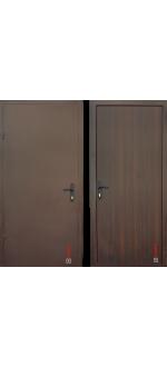 Входные двери Металл/ДСП